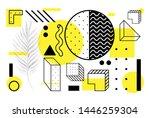 universal trend halftone...   Shutterstock .eps vector #1446259304
