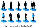 illustration of business people | Shutterstock .eps vector #14462695