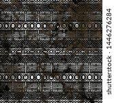 geometry texture repeat... | Shutterstock . vector #1446276284