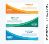 baner design template for... | Shutterstock .eps vector #1446313457