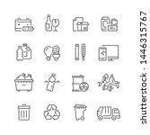 Trash Related Icons  Thin...