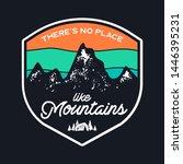 mountain explorer graphic for t ...   Shutterstock .eps vector #1446395231
