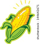 ear of corn | Shutterstock .eps vector #144642671