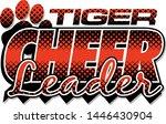 Tiger Cheerleader Team Design...