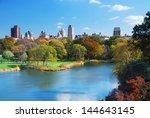 new york city manhattan central ... | Shutterstock . vector #144643145