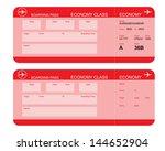 vector image of airline... | Shutterstock .eps vector #144652904