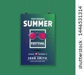summer event festival...   Shutterstock .eps vector #1446531314