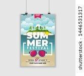 summer event festival...   Shutterstock .eps vector #1446531317
