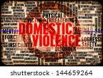 domestic violence and abuse as... | Shutterstock . vector #144659264