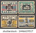 nautical vector design of rusty ...   Shutterstock .eps vector #1446619517