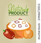 natural product vector ... | Shutterstock .eps vector #1446672011