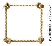 rope frame   Shutterstock . vector #144667787