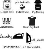 laundry room icon on white...