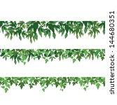 seamless pattern  maple green... | Shutterstock . vector #144680351