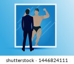 vector illustration of... | Shutterstock .eps vector #1446824111