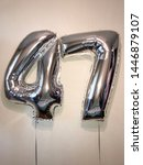 big balloons in the form of... | Shutterstock . vector #1446879107