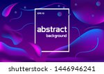 colorful abstract design with... | Shutterstock .eps vector #1446946241