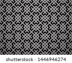 abstract geometric pattern. a... | Shutterstock . vector #1446946274