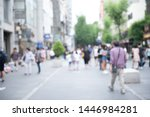 blurred background  people... | Shutterstock . vector #1446984281