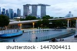 singapore  singapore june 1 ... | Shutterstock . vector #1447004411
