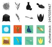 vector illustration of crop and ... | Shutterstock .eps vector #1447035467