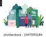 health plans   medical... | Shutterstock .eps vector #1447093184
