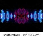 light effects. neon glow.... | Shutterstock . vector #1447117694