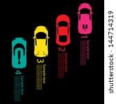 race car | Shutterstock .eps vector #144714319
