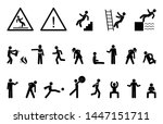 set people icon  action... | Shutterstock .eps vector #1447151711