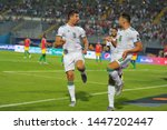 7 july 2019  egypt  cairo  the... | Shutterstock . vector #1447202447