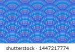 Blue Sea Seamless Pattern ...