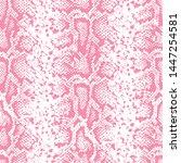 snake skin pattern design  ... | Shutterstock .eps vector #1447254581