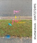 Utility Flags And Marks On A...