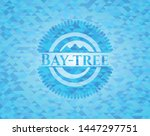bay tree realistic light blue... | Shutterstock .eps vector #1447297751