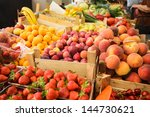 Various Fresh Fruits In Boxes...
