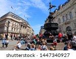 london  uk   july 7  2016 ...   Shutterstock . vector #1447340927