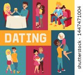 Dating Banner Vector...