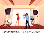 Studio Photo Shoot With Model...