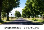 road with green trees | Shutterstock . vector #144750241