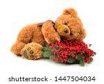 Teddy Bear With Christmas...