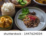 Northern Thai Food On The Dish