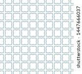 seamless vector pattern in... | Shutterstock .eps vector #1447666037