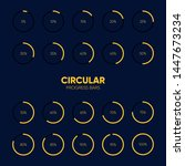 collection of circular...