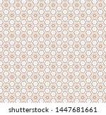 seamless vector pattern in... | Shutterstock .eps vector #1447681661
