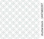 seamless vector pattern in... | Shutterstock .eps vector #1447682207