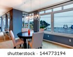 City Apartment Dining Room With ...