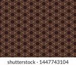 soft christmas knitted fleece... | Shutterstock . vector #1447743104