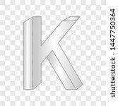alphabet k impossible shape...