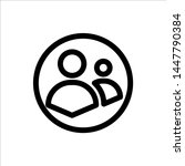 user icon. symbol of business...