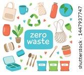 zero waste concept illustration ... | Shutterstock . vector #1447937747